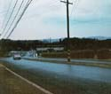 1964 June - rainy, approaching Bainbridge main gate